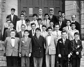 Class of Brother Aurèle in 1959