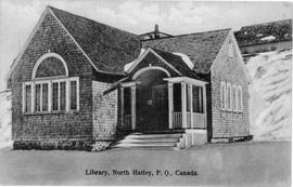 Library, North Hatley, P.Q., Canada