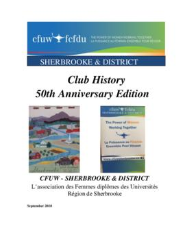 Sherbrooke and District Club History, 50th anniversary
