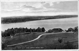 Lake Massawippi from Golf Links, North Hatley, Que.