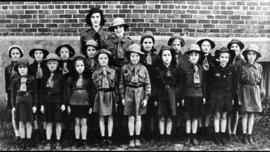 First Brownies of East Angus 1939