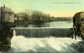 Power Dam, Coaticook River, P. Q.