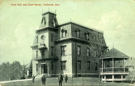 Town Hall and Court House, Coaticook, Que.