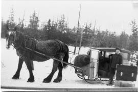 Horse Drawn School Bus