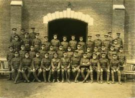 117th CEF (E.T. Battalion), probably taken at the Bury Armoury,