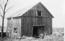 Barn used for blacksmithing