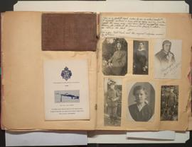 Pages from Frank Herbert Price's scrapbook