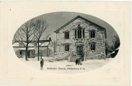Methodist Church, Philipsburg, P.Q.
