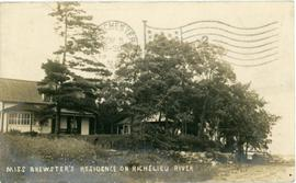 Miss Brewster's residence on Richelieu River