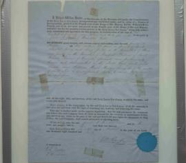 Deed to James A. Frasier