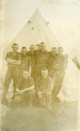 Soldiers of the 117th E.T. Battalion in Val Cartier