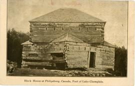 Block House at Philipsburg, Canada, Foot of Lake Champlain