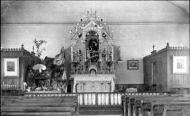 Interior of St Louis Church of Westbury before 1910