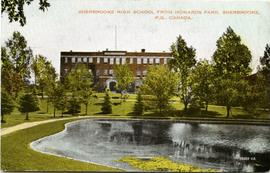 Sherbrooke High School from Howards Park