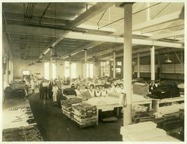 Interior of Dominion Textile, Magog