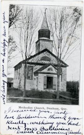 Methodist Church, Dunham, Que.