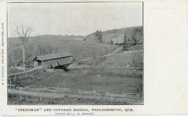 """Inkerman"" and Covered Bridge, Frelighsburg, Que."