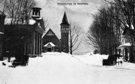Knowlton in Winter