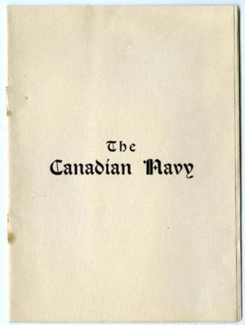 The Canadian Navy, by Minnie H. Bowen