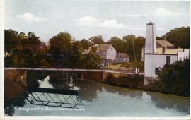 Bridge and Fire Station, Cowansville, Que.