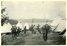 2nd Sherbrooke Troop Boy Scouts camping at Lake Massawippi