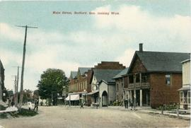 Main Street, Bedford, Que. looking West