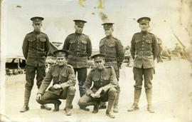 Part of No.1 Platoon, 117th E.T. Battalion, Valcartier
