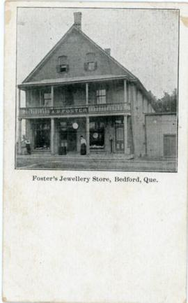 Foster's Jewellery Store, Bedford, Que.