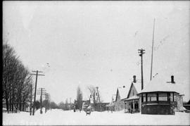 Main Street in Winter, Compton