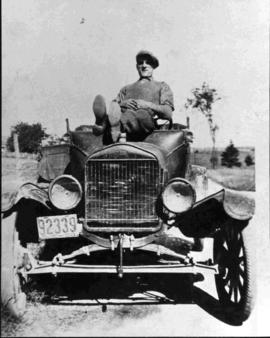 Mr. Archelas Gagné and the Car