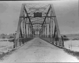 Nicole bridge, built in 1917