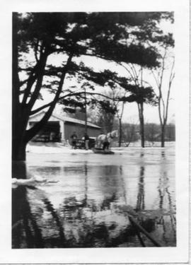 Flood at Lennoxville