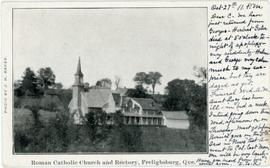 Roman Catholic Church and Rectory, Frelighsburg, Que.