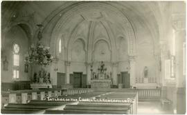 Interior of the Church, Clarenceville, P.Q.