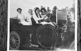 Women in a car