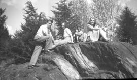 "Group on ""Scout Rock"""