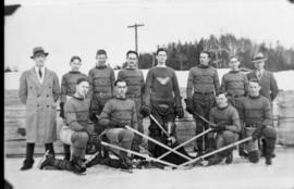 Championship Hockey Team