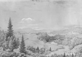 Bird's eye view of Beebe, ca. 1872