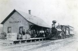 Orford Mountain Railway, Valcourt Station