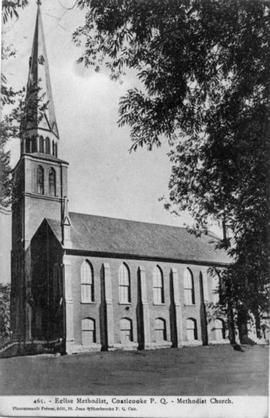 Eglise Methodist, Coaticook, P. Q.
