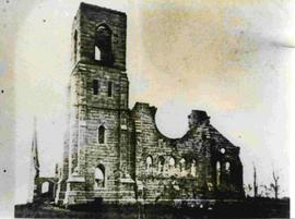 Centenary Methodist Church after fire