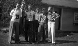 Group of young men, Lennoxville