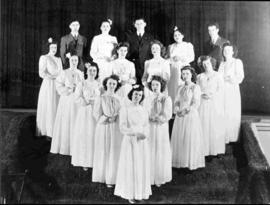 Choir of the Cercle Ste-Jeanne d'Arc around 1942