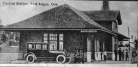 Canadian Pacific train station, East Angus