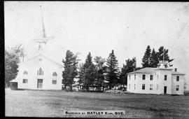 Charleston Academy and Hatley Anglican Church, Hatley