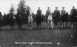 Military Camp Farnham, Que.