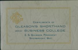 Gleason's Shorthand and Business College
