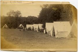 Barrow's Camp by the Cliff, Lake Memphremagog