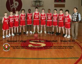 Bantam basketball team