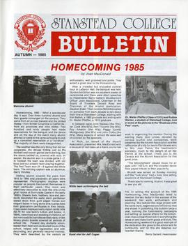Stanstead College bulletin Fall